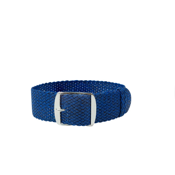 Monochrome Watches Shop | Perlon Strap - Navy Blue