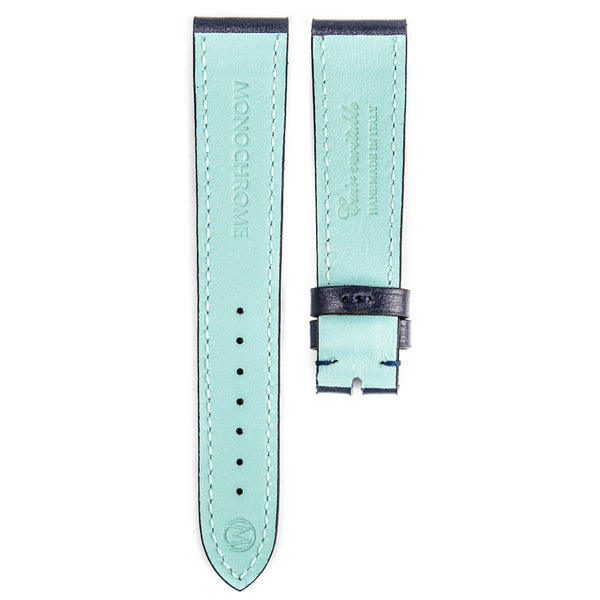 Monochrome Watches Shop | Smooth Calfskin Watch Strap - Blue