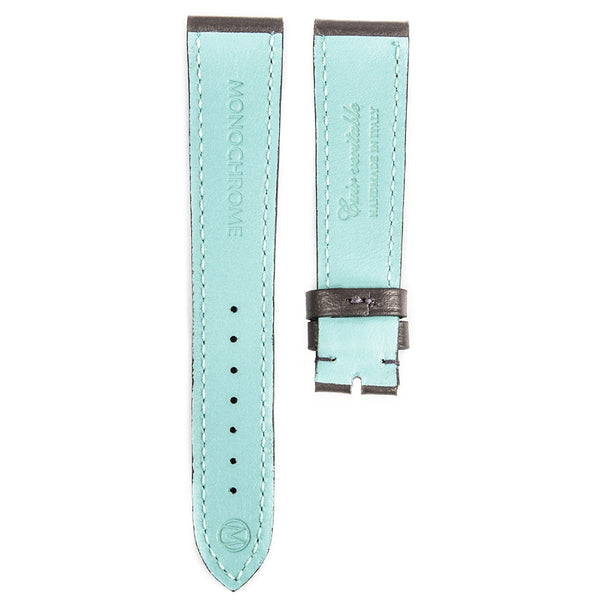 Monochrome Watches Shop | Smooth Calfskin Watch Strap - Grey