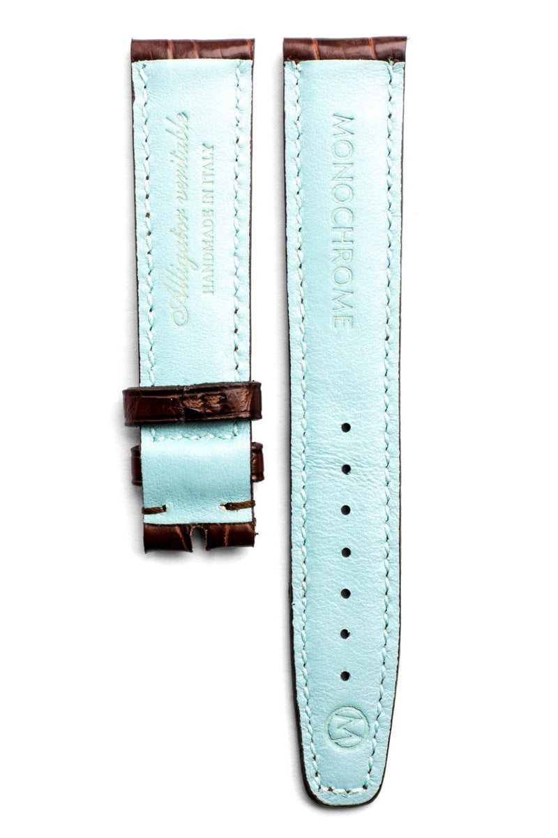 Monochrome Watches Shop | Alligator Watch Strap - Brown