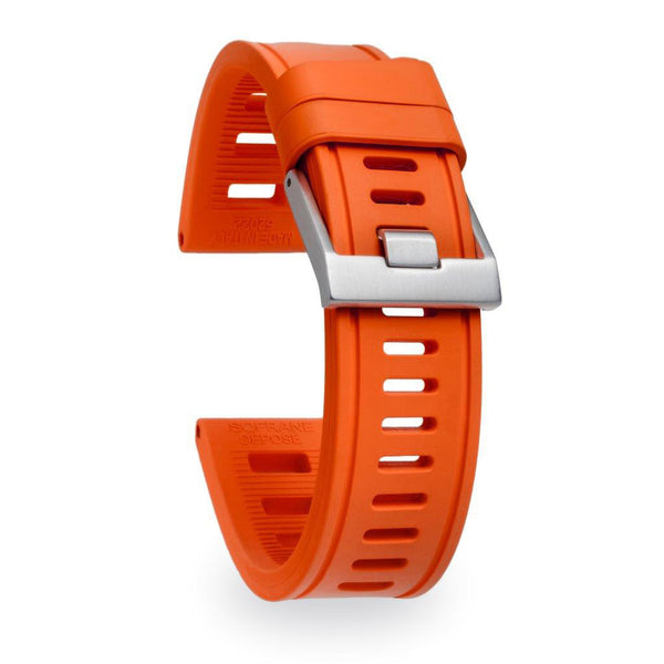 Isofrane - Rubber Watch Strap - Orange