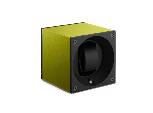 Monochrome Watches Shop | SwissKubik - Masterbox Aluminium - Single Watch Winder - Green