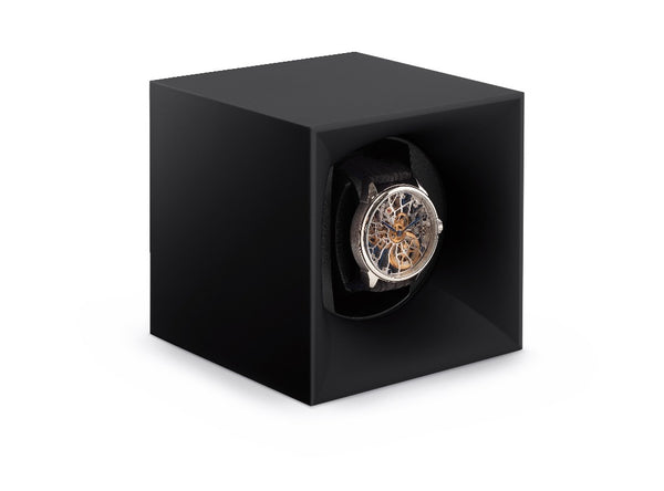 Monochrome Watches Shop | SwissKubik - Startbox - Single Watch Winder - Black