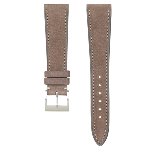 Monochrome Watches Shop | Nubuck Watch Strap - Taupe
