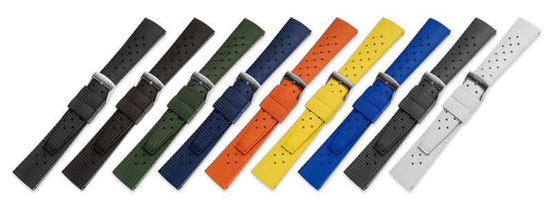 Monochrome Watches Shop | Tropic Rubber Watch Strap Collection