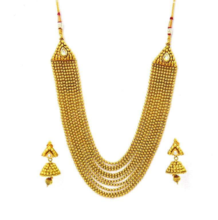 indian jewelry long set