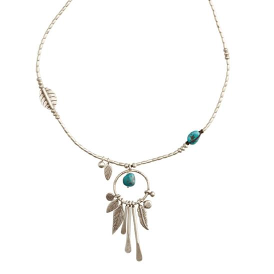 The Sea Dreamer with Turquoise Necklace