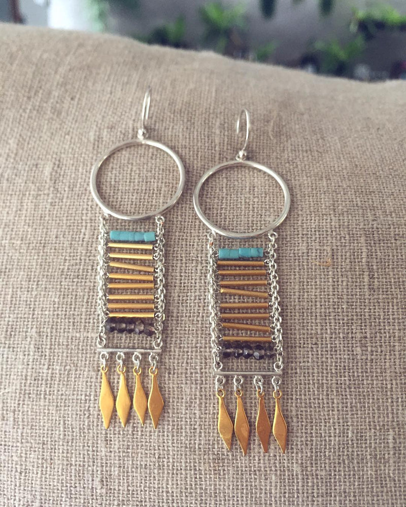 Knowledge Earrings - The Spirit of Boho