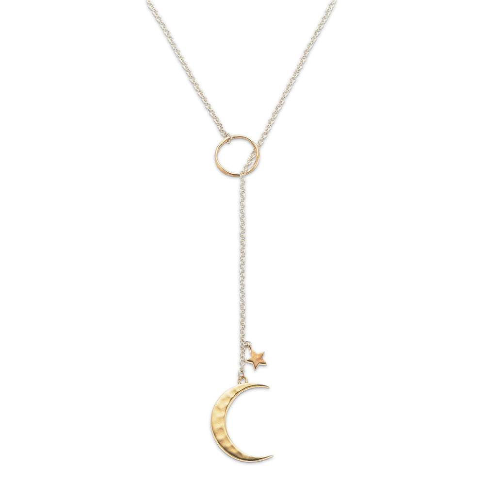 Moon Chain Lariat