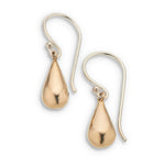 Petite 3D Teardrop Earrings