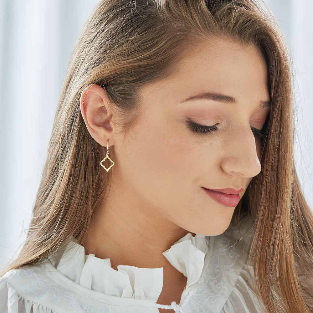 Petite Cutwork Earrings - The Spirit of Boho