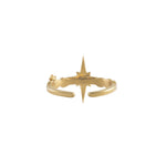 Wishing Star Gold Ring - The Spirit of Boho