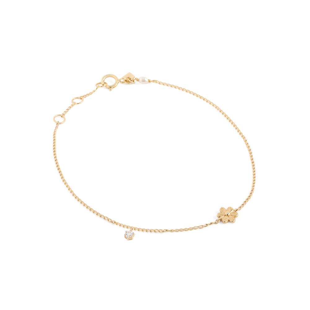 Blushing Blossoms Diamond Bracelet - The Spirit of Boho