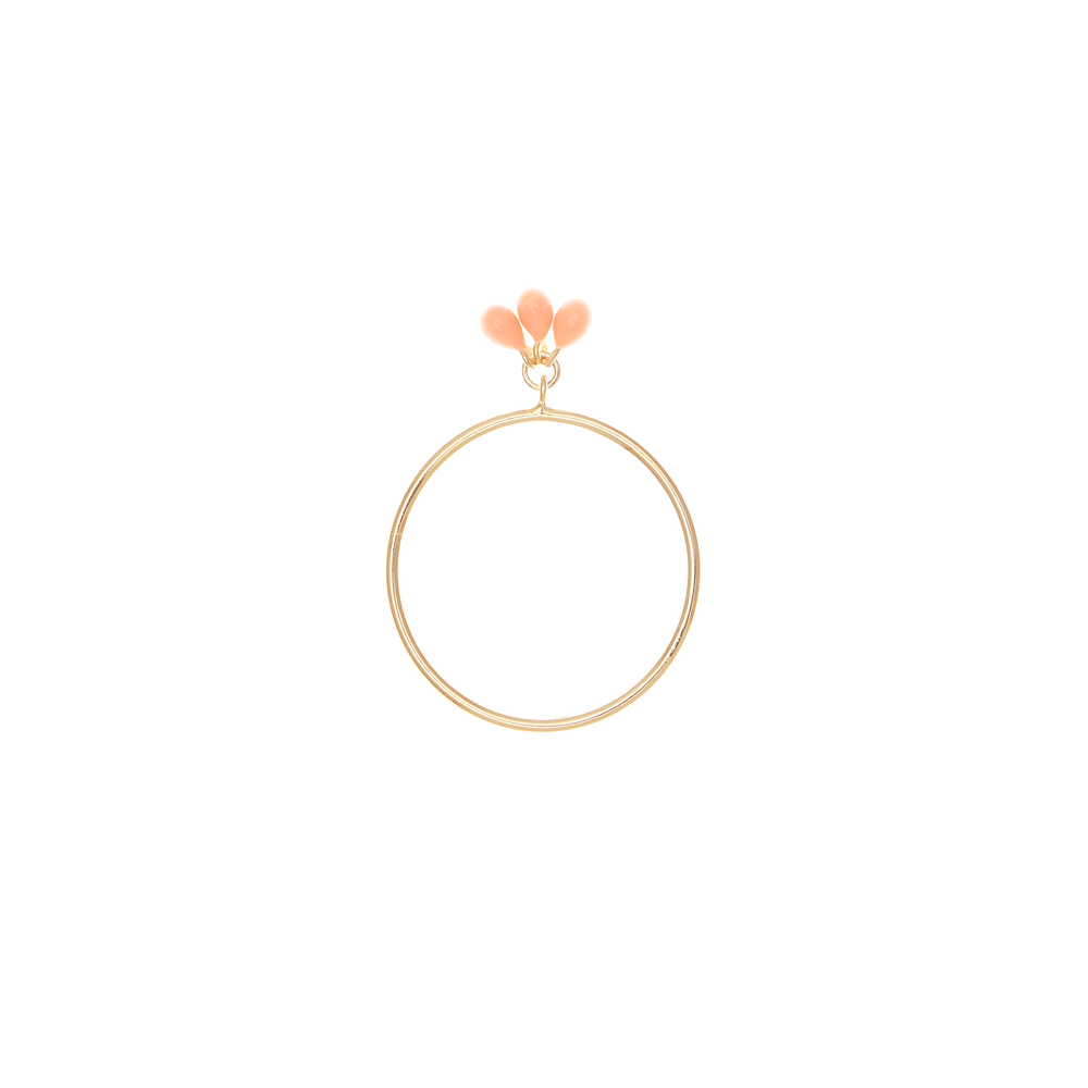 Gold Coral Mermaid Ring - The Spirit of Boho