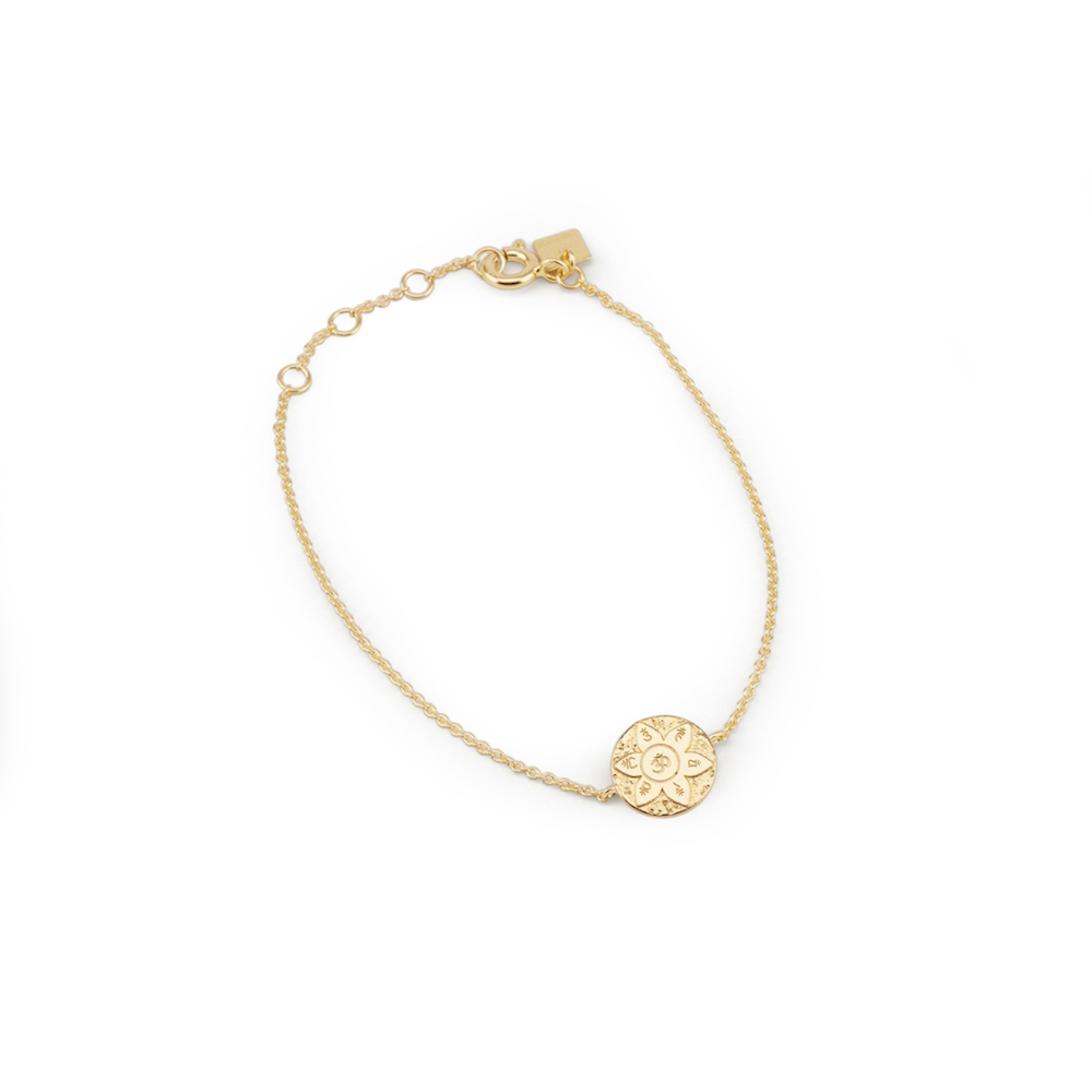 Gold Eternal Harmony Bracelet