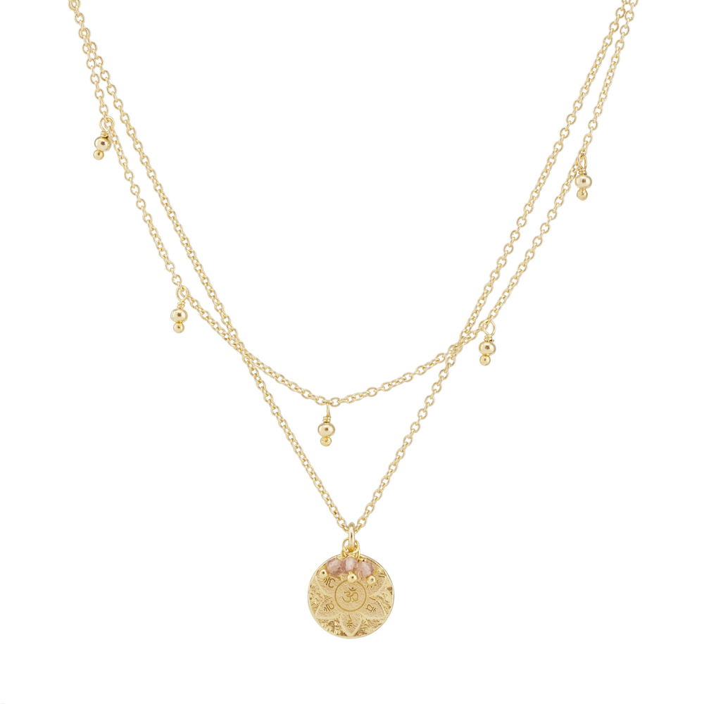 Gold Eternal Harmony Necklace - The Spirit of Boho