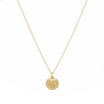 Gold Lotus Rising Necklace