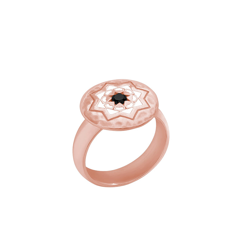 Rose Gold Andalusia Ring