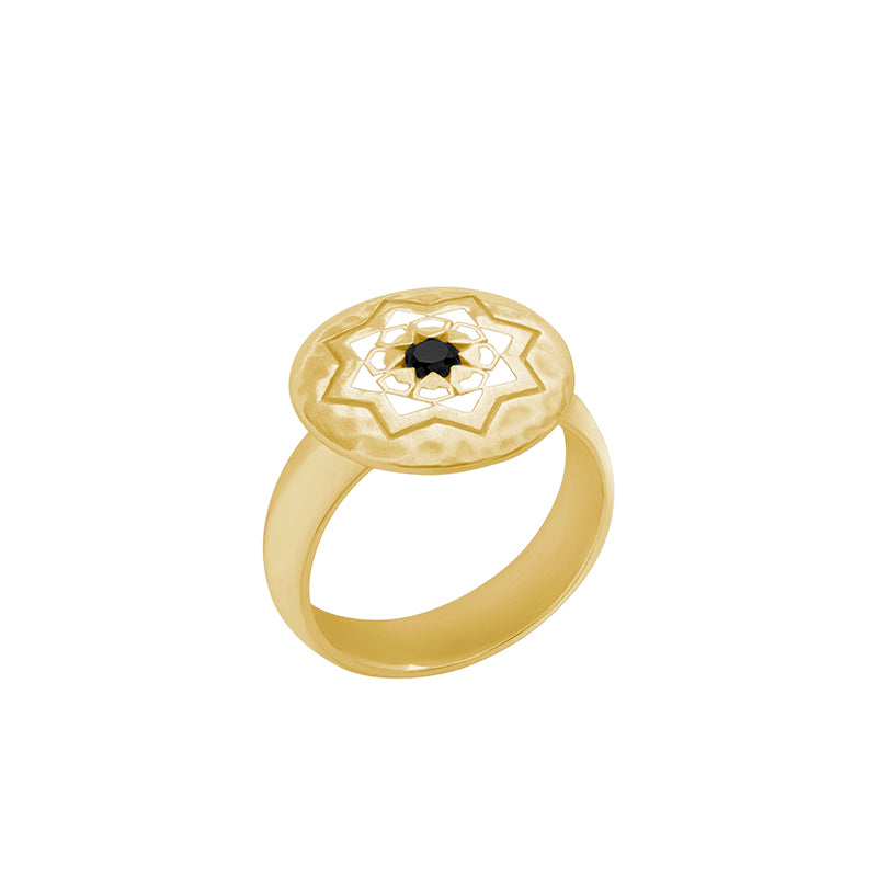 Gold Andalusia Ring