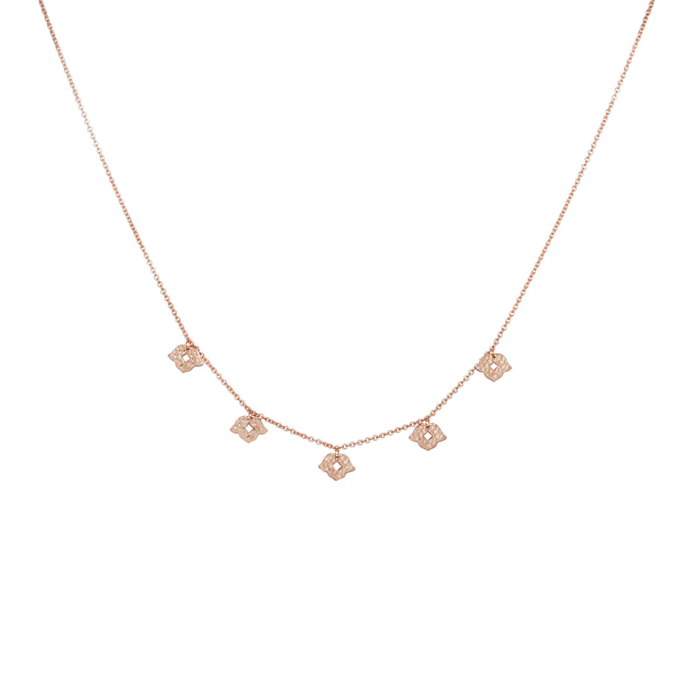 Rose Gold Beleza Choker - The Spirit of Boho