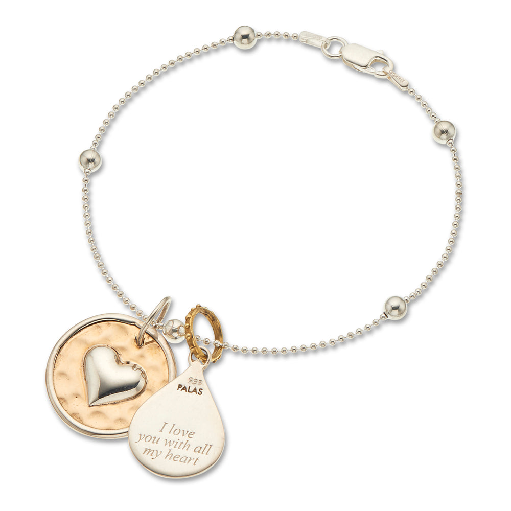 French With All My Heart Bracelet - The Spirit of Boho