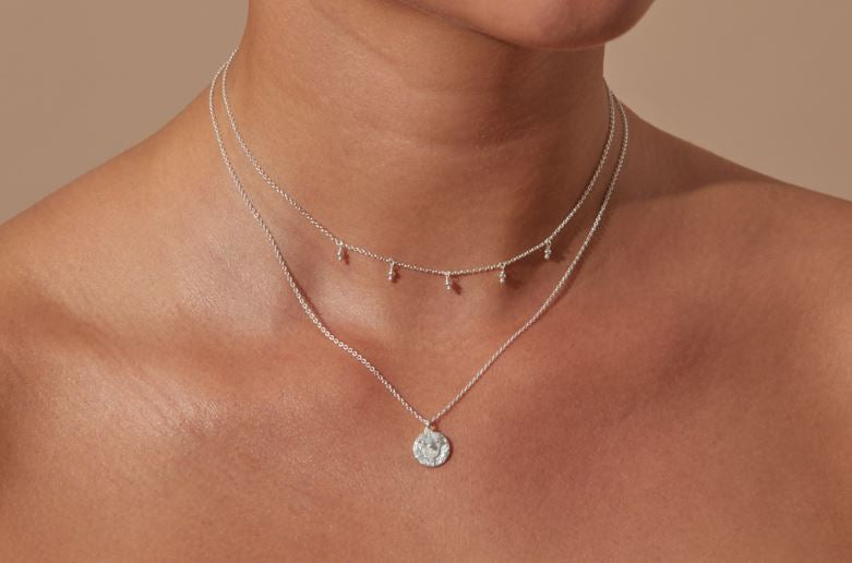 Silver Devine Protection Necklace - The Spirit of Boho