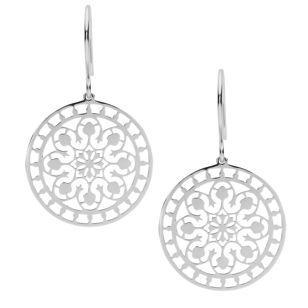 Silver Tahiti Earrings - The Spirit of Boho