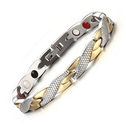 Fashionable Magnetic and Germanium Therapy Bracelet (FMG4928205)