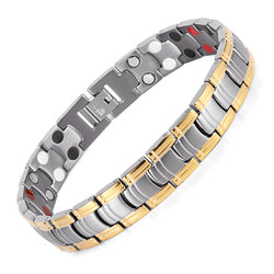 Stylish Bio-Energy Magnetic Therapy Bracelet (SBM1220983)