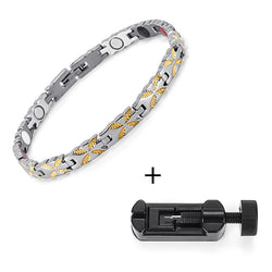 Magnetic Bio Energy Bracelet - Women - (OSB-1538S)