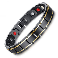 Stylish Bio-Energy Magnetic Therapy Bracelet (SBM10087)