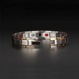 Stylish Bio-Energy Magnetic Therapy Bracelet (SBM10124)