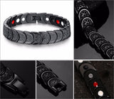 Stylish Bio-Energy Magnetic Therapy Bracelet (SBM10133)