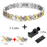 Fashionable Magnetic and Germanium Therapy Bracelet (FMG10207)