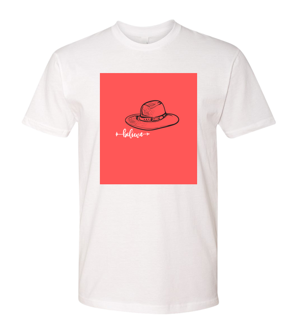 Flo Chase 'Believe' Hat Tee