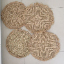 Seagrass Chargers /set of 3 - AnamasGypsy