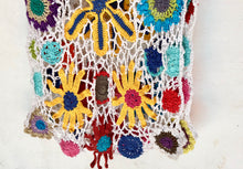 Boho Gypsy   skirt hand crocheted - AnamasGypsy