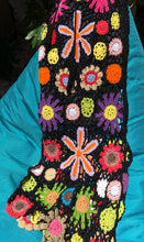 Gypsy  skirt hand crocheted sea - AnamasGypsy