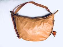 Kosem  Leather Tan- Orange - AnamasGypsy