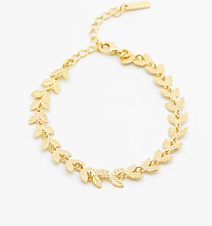 Laurel Chain Bracelet