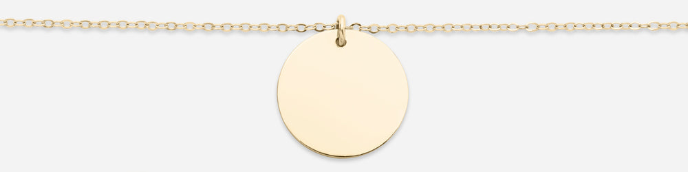 Large Disk Necklace