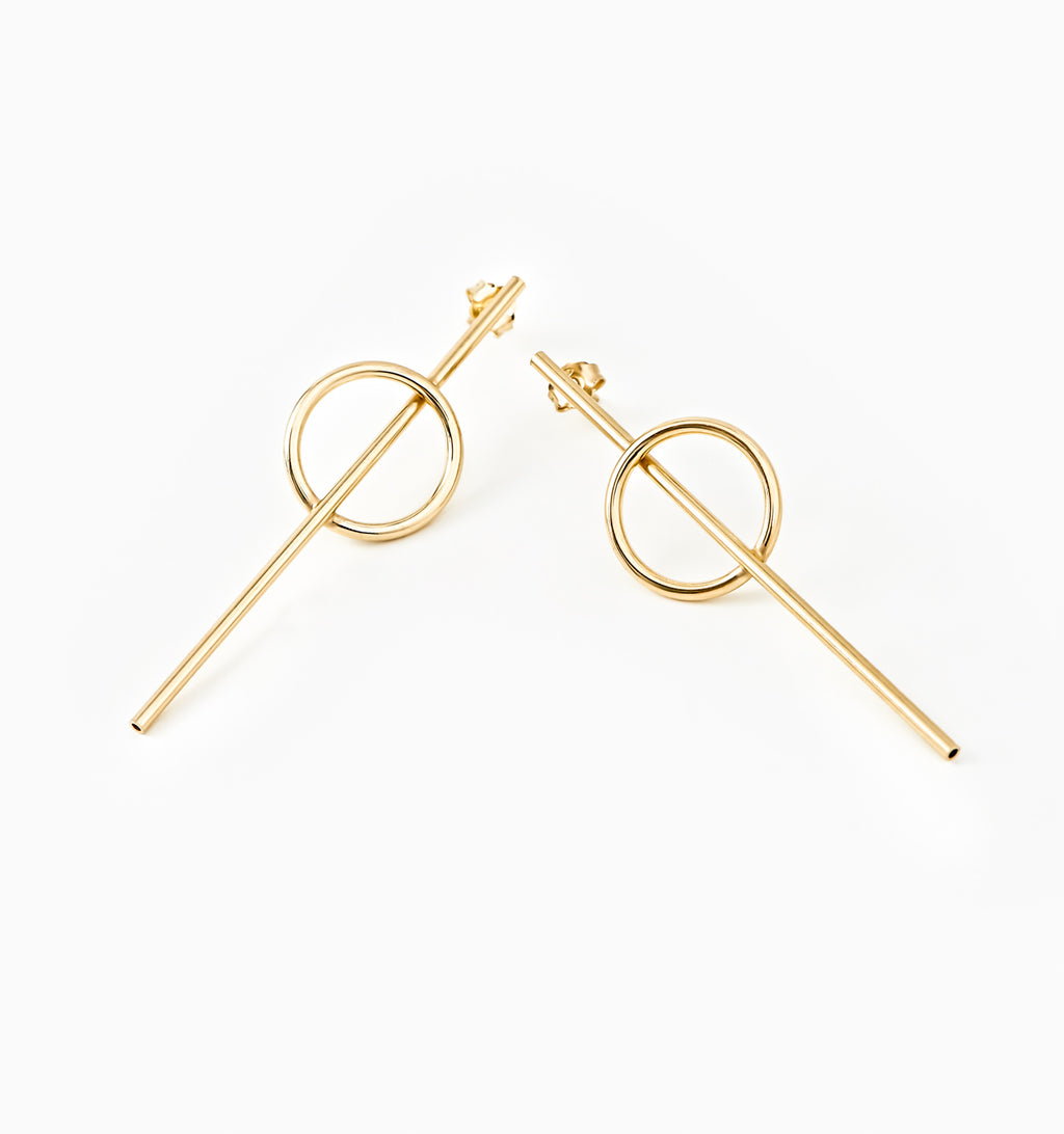 Artemis Bar Earrings