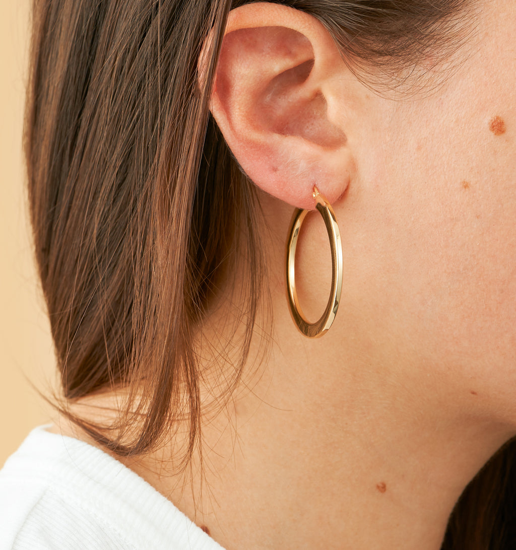 Bold Hoops - Medium