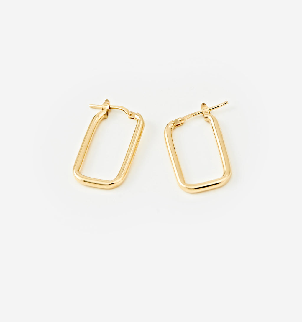Rectangle Hoops - Small