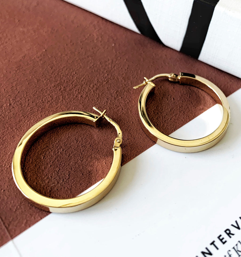 Modern Round Hoops - Small