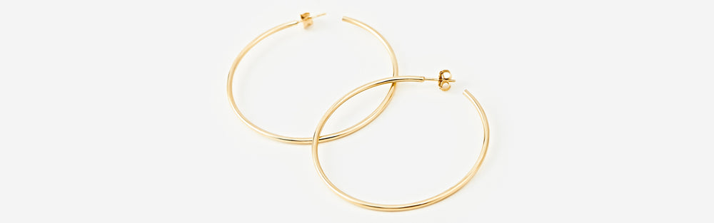 Thin Hoops - Large