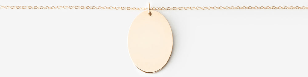Large Oval Necklace
