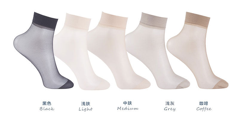 d360c037e03 20Pieces 10 Pairs Summer bamboo female Short Socks Women s Thin Crystal  Socks
