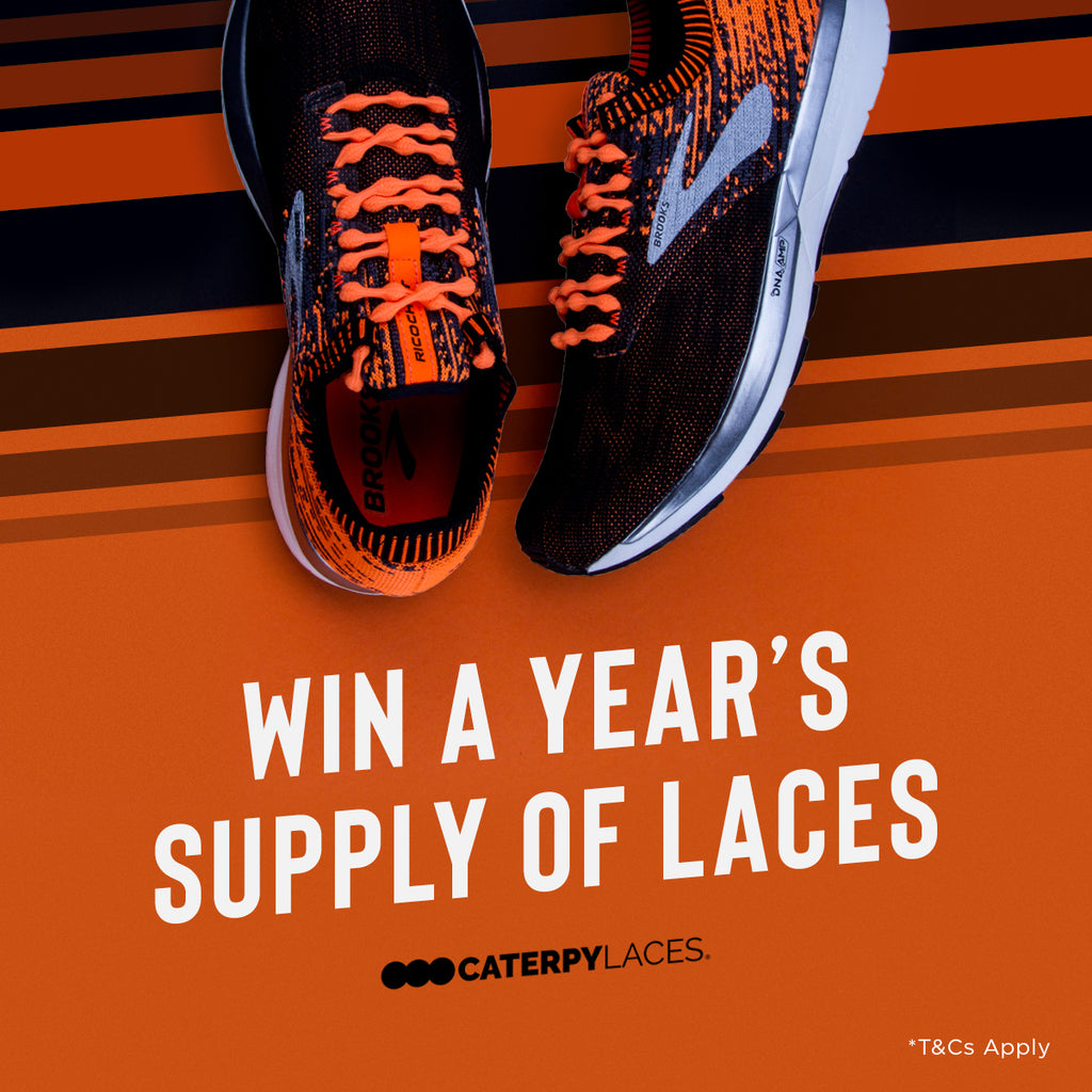 WIN A Year's Supply Of Laces!
