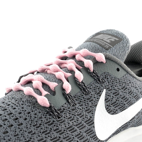 Bubblegum Pink Caterpy Laces